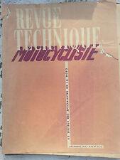 revue technique motocycliste n12 dec1948 bmw r12 carb amal amac
