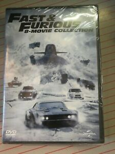 Fast And Furious - Collezione 8 film (8 Dvd) UNIVERSAL PICTURES in italiano