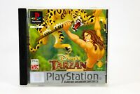 Disney's Tarzan PS1 Playstation 1 Family Children's Video Game PAL Original Case