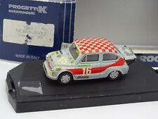 Progetto 1/43 - Fiat Abarth 600 1000 Gr5 4 ore Monza 1963