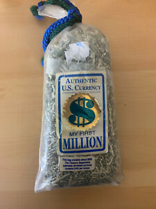 $500 Shredded Money Bag US Currency Bureau Of Engraving And Printing