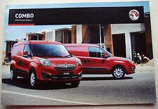Vauxhall . Combo . Vauxhall Combo . 2016 Models Edition 1 Sales Brochure