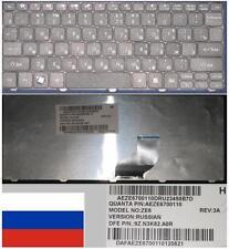 Clavier Qwerty Russe GATEWAY LT28 LT22 ZE6 AEZE6700110 9Z.N3K82.A0R Noir/Black