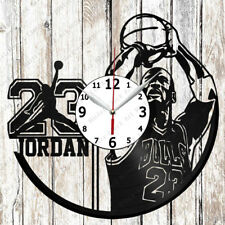 4c91559b265e Michael Jordan Vinyl Wall Clock Handmade Made of Vinyl Record Original gift  2760