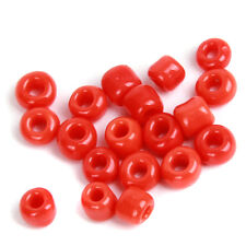10000x Red Color Mini Seed Glass Spacer Charms Beads Findings Fit Jewelry DIY L