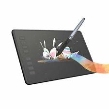 Huion H950p Graphics Drawing Tablet Battery Pen Stylus 8192 Tilt Function