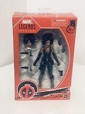 Marvel Legends Deadpool Movie X-Men DOMINO 6? Figure Brand New HASBRO HTF