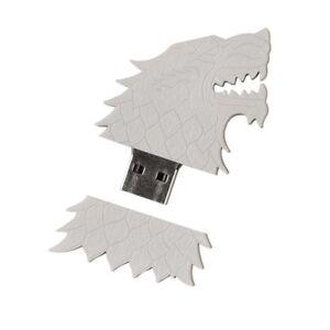 Game of Thrones 10 Lot Set USB Flash Drive 4GB House Stark Sigil Direwolf BFF