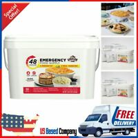 Emergency Food Supply 48-Hour 4 Person Kit 94.47oz Survival Safety Bucket Kit