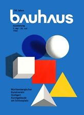 BAUHAUS 50TH ANNIVERSARY EXHIBITION ART POSTER A3 REPRINT