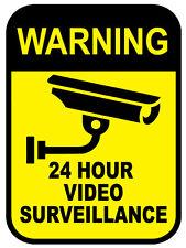 WARNING 24hr Video Surveillance