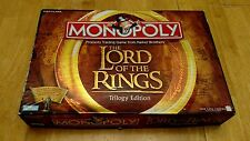 The Lord of the Rings Monopoly Trilogy Collector Edition 2003 Family Board Game
