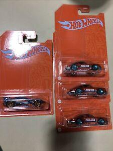 New 2021 Hot Wheels Orange & Blue 53rd Anniversary GAZELLA R/PORSCHE 911 Lots 4