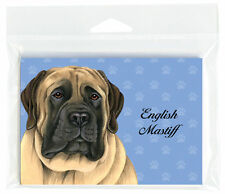 English Mastiff Dog Note Cards Set of 8 with Envelopes