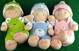 "Stuffed Doll, Pillow Like Calm, Soft Baby Sleep Doll ""Happy Baby"""