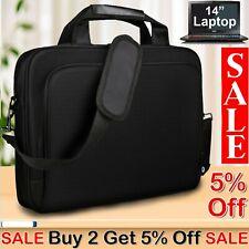 "15"" Laptop Shoulder Bag Portable Handbag Notebook Case Thinkpad Lenovo Dell HP"