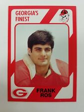 Frank Ros 1989 Collegiate Collection card UGA Georgia Bulldogs Football Dawgs NM
