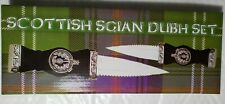2 pc Sgian Dubh Scottish Athame Wicca Wiccan Pagan Ceremonial Knife Dagger Altar