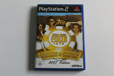 Sony Playstation 2 PS2 Spiel World Series of Poker: Tournament of Champions 2007
