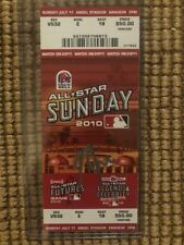 Mike Trout Autographed Signed 2010 All Star Sunday Futures Game Ticket Angels