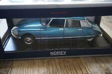 1/18 NOREV Citroen DS 23 Pallas 1973 bleu blau
