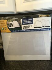 Petmate Doghouse Door - Dogloo Indigo - Extra Large~New Replacement Flap