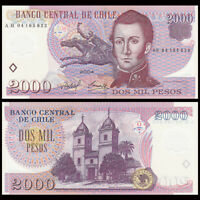 Chile 2000 2,000 Pesos, 2004, P-160a, Polymer, UNC