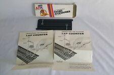 Aurora AFX 9 inch Lap Counter Track in Box Paperwork