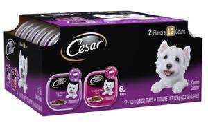 (12 Pack) CESAR Soft Wet Dog Food Classic Loaf in Sauce Filet Mignon