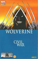 WOLVERINE N° 163 COLLECTOR EDITION - CIVIL WAR - PANINI COMICS -2007- COMME NEUF