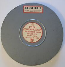 rare VINTAGE 16 MM film - KNOW YOUR BASKETBALL - OFFICIAL SPORTS FILM SERVICE