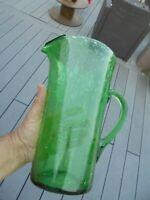 Gros Pichet Broc à Eau Jus de Fruit ou Cocktail  2.4 litres Verrerie de Biot