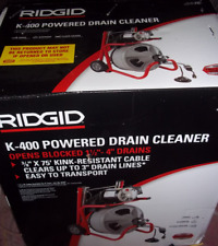 Ridgid 52363 K 400 115v Drum Machine With C 31 38 In Integral Wound Cable