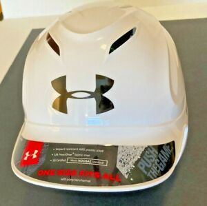 Under Armour Batting Helmet -WHITE- Size 6 1/2 - 7 1/2 New no Tags