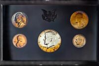 1969-S US MINT PROOF SET NICE COLOR BU TONED CHOICE UNC GEM #31 (DR)