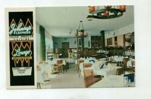"FL Ft. Lauderdale Florida vintage post card - ""Johnny's Eldorado Restaurant"""