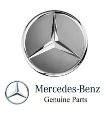 Genuine Mercedes Benz Himalaya Grey with Chrome Star Wheel Insert Cap
