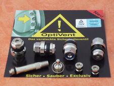 4 x válvulas llantas ocultos válvulas plata metal válvulas optivent escondido