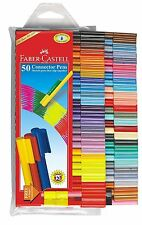 Faber Castell Connector Sketch Pen Set of 50 Colour Colourful Textas Marker