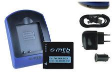 Baterìa+Cargador (USB) para Panasonic DMW-BLE9, BLE9E, BLE9PP, BLE9GK