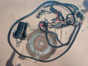 Mercury 25 20 Flywheel Electric Start 1980s Starter Solenoid Stator Trigger