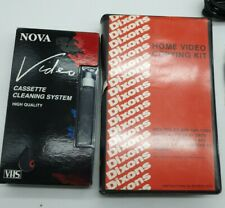 Pre Cert Beta VHS Copying Kit and separate VHS Cleaning Kit. Retro.