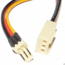 30cm 3 Pin Fan Male Plug to Female Socket Power Extension Cable [006341]