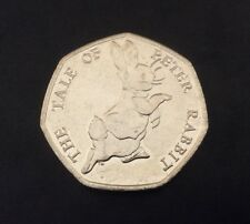 50p Coin 2017 The Tale Of Peter Rabbit FREEPOST
