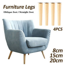 4Pcs/lot  Cone Oblique Straight Angled Furniture Legs Kit Sofa Table Chair Stool