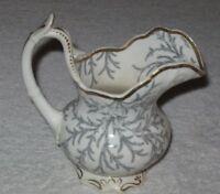 Antique/Vintage English China Creamer Rockingham Works Brameld, 1826-1842