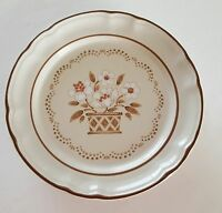 Cumberland Mayblossom Brown Stoneware Side Plate Japan 7 1/2""