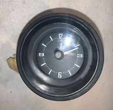 Clock out of a Datsun 280Z. —T2— G