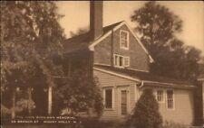 Mount Holly Nj Woolman Memorial Postcard