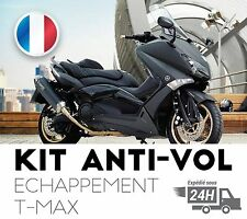 Antivol Echappement Moto TMax XMax Suzuki Piaggio MP3 Yamaha Honda Akrapovic